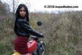 Uphill moped