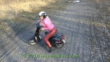Riding scooter