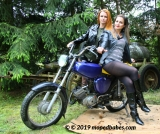 Moped tights