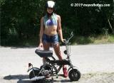 Minimoped ride