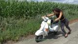 Pushing riding