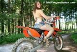 Dirt bike girlie