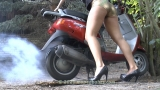 Scooter burnout