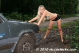Muddy parking