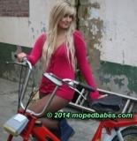 Mofa schoolgirl