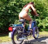 Bikini pedalstart